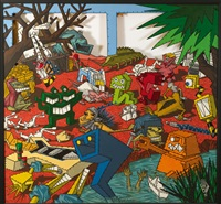 bosch, bruegel and rock'n'roll by kriki (christian vallee)