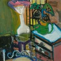 the blue shelf by arlene amaler-raviv