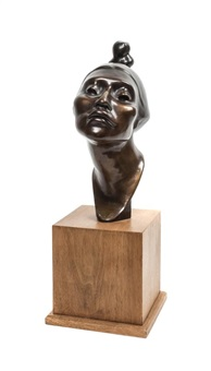 bust of assurance by shirley thomson smith