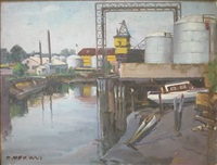 industrial shoreline by joseph newman
