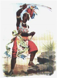 les amazones du dahomey (poster) by posters: propaganda