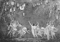 dancing nymphs by blendon reed campbell