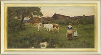 milking time by thomas james lloyd