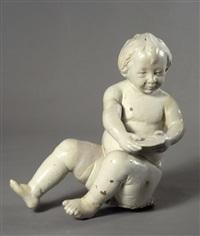 cupido seduto by luca della robbia