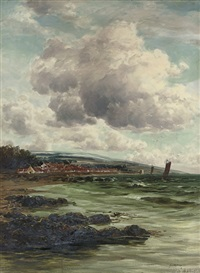 on the east coast at dysart by john hamilton glass