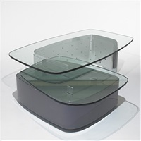 coffee table from untitled no. 1, chicago (collab. w/mark sexton) by ron krueck