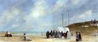 sur la plage by louis bentabole