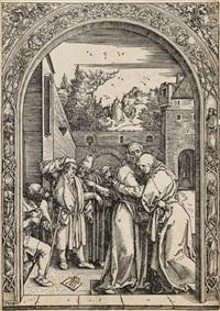 joachim und anna unter der goldenen pforte by albrecht dürer