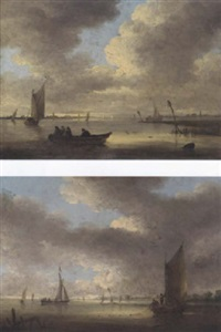trawling in the estuary by anglo-dutch school (18)