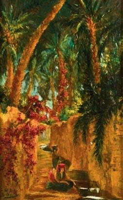 oasis algérie by georgette agutte