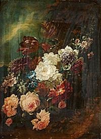 blomsterstilleben by abraham mignon