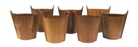 waste baskets (set of 7 works) by p.s. heggen