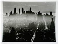 lower manhattan from midtown u.a. (6 works) by andreas feininger
