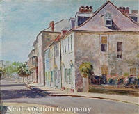 charleston morning on church street by j. winthrop andrews