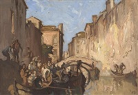 venice by sir frank brangwyn