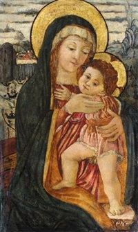 the madonna and child by filippo di tomaso (fra) lippi