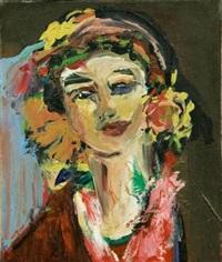 self portrait by arlene amaler-raviv
