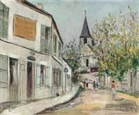 eglise des vaux-de-cernay by maurice utrillo