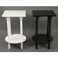 tavolino (+ another; 2 works) by kartell