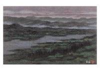 view of the lake by akira kaho