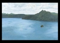 sacred lake by haruo ijima