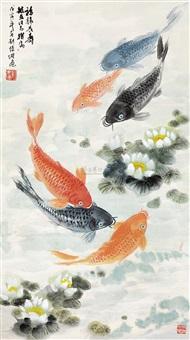 福禄长寿 by liu huaitang