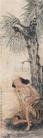 瘦骨罗汉 by jin nong