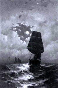 sailing by moonlight by george bunn