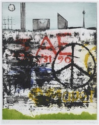 die mauer (+ another; pair) by jock mcfayden