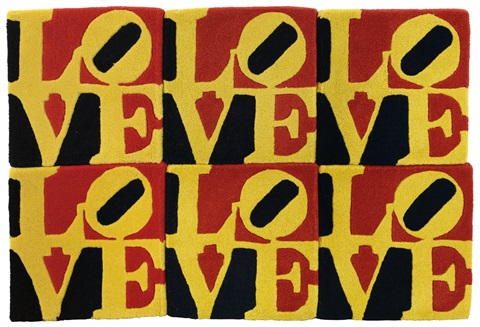 love 6 works by robert indiana