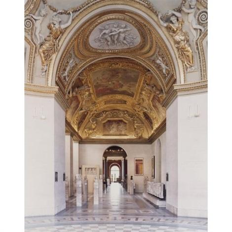 musée du louvre paris xv by candida höfer