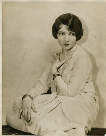 claudette colbert oversize gallery portrait (from la gringa) by hal phyfe