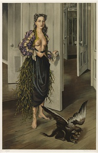 birthday (self portrait at age 30) by dorothea tanning