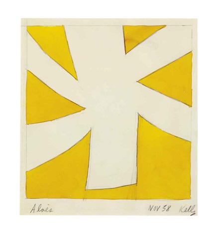 aloes by ellsworth kelly