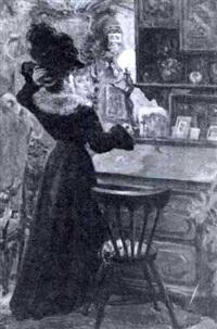 donna alla specchio by corinna modigliani
