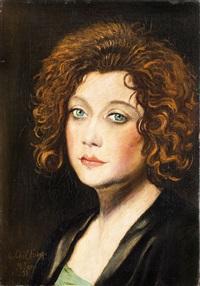 ritratto di donna by gregorio sciltian