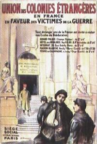 union des colonies étrangères en france en faveur des victimes de la guerre (poster by chavannaz) by posters: propaganda