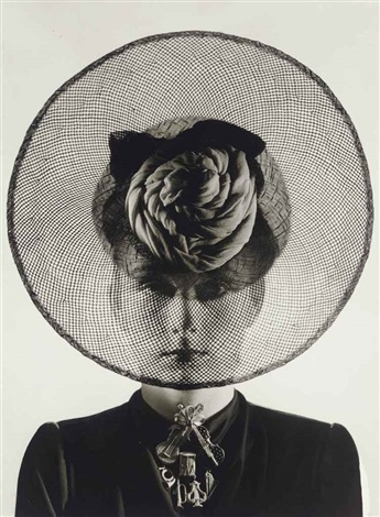 hat and jewelry by schiaparelli by erwin blumenfeld