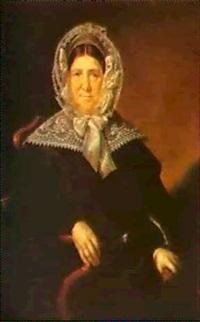 portrait of anna feodorovna mazurina by vasili andreevich tropinin