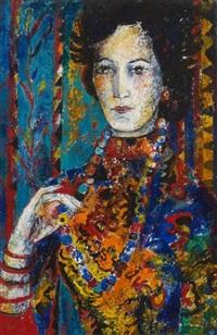 la dame au collier by marguerite acarin