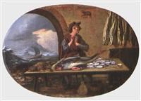der fischverkäufer by jan wouters