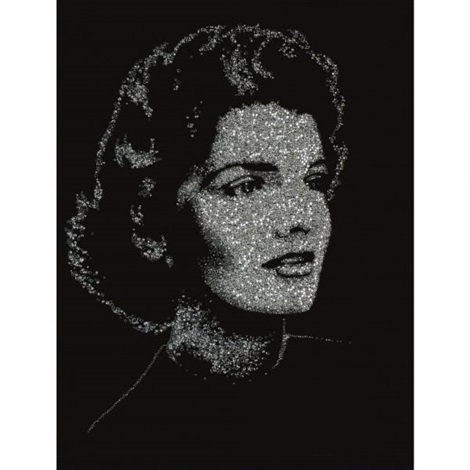jackie from pictures of diamonds by vik muniz