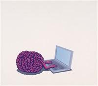 computer brain by dadara