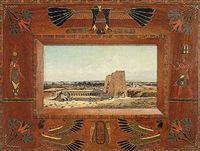 ancient temple by giacomo antonio mannini