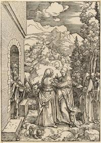 die heimsuchung by albrecht dürer