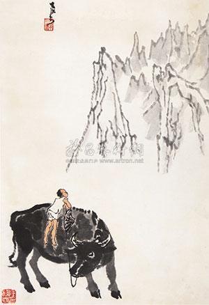 看山图 by li keran