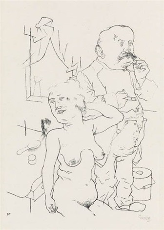 sonntag früh from ecce homo by george grosz