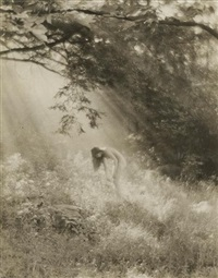 female nude (+ 2 others; 3 works) by edwin bower hesser
