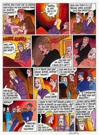 planche 18 (from l'annonce faite à martine) by gérard lauzier