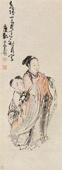 母子图 by huang shen